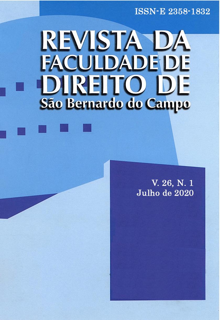Revista da Faculdade de Direito, v.26, n.1, 2020.