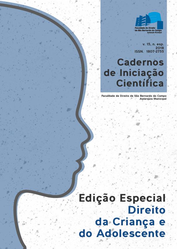 Cadernos de Iniciação Científica: Especial Direito da Criança e do Adolescente
